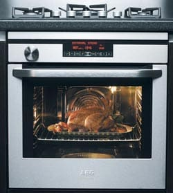how to clean a self cleaning gas oven manually